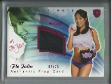 Flo Jalin 2009 Bench Warmer Autograph Authentic Used Baseball Glove #07/25