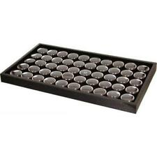 50 Black Foam Gem Jars Amp Stackable Display Tray