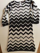 Bonpoint - Robe XS - Coton Crochet - Blanche et Noire