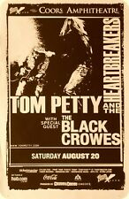 TOM PETTY / THE BLACK CROWES 2005 SAN DIEGO CONCERT TOUR POSTER - Classic Rock