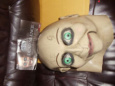 DEAD SILENCE BILLY PUPPET SCARY EVIL HALLOWEEN FULL LATEX MASK TRICK OR TREAT