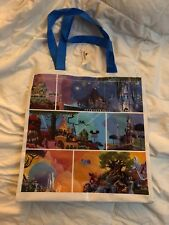 Walt Disney Imagineering Shopping Bag - Shows various Disney Locations - NEW!