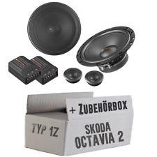 Helix Lautsprecher für Skoda Octavia 2 1Z Front 16cm 2-Wege Auto Boxen Einbauset