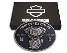 FIBBIA HARLEY DAVIDSON V-TWIN GENUINE IDEA REGALO SPORTSTER IRON SCREAMIN EAGLE