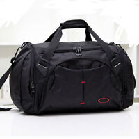 Men Oxford Duffel Bag Nylon Message Shoulder Travel Gym Luggage Bag Capacity 30L