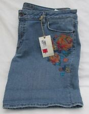 Marks and Spencer Cotton Mid Rise Plus Size Shorts for Women