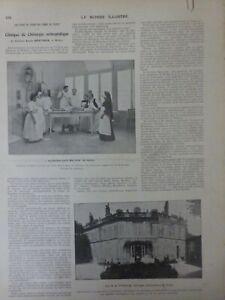 1915 Mid Doctors Surgery Louis Menciere clinique Orthopedic Reims