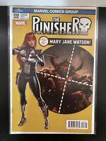 The Punisher #13 Mary Jane MJ Variant ASM #129 Cover Swipe