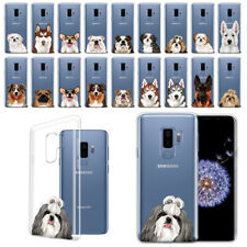 For Samsung Galaxy S9 Plus/ S9+ 6.2 Animal Design Clear Tpu Gel Case Phone Cover