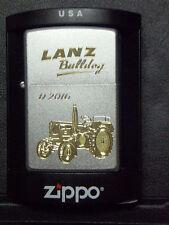 Zippo Sturmfeuerzeug Lanz Bulldog Trecker D 2016 Gravur