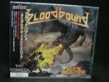 BLOODBOUND Rise Of The Dragon Empire + 3 JAPAN CD Dawn Of Silence Shadowquest