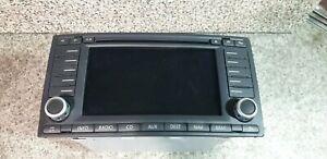 VW Touareg (2006–2007) Stereo Navi 7L6035191H With Pin and Navigation DVD