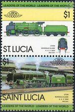 1930 SR ETON Schools Class 4-4-0 #900 Southern Railway Train Stamps / LOCO 100