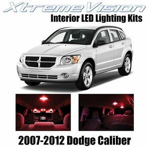XtremeVision Interior LED for Dodge Caliber 2007-2012 (6 PCS) Red
