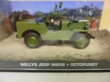 UNIVERSAL HOBBIES 1:43 SCALE JAMES BOND WILLYS JEEP OCTOPUSSY  [M.I.B.]