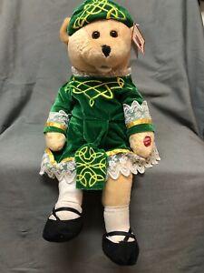 PBC International Plush Musical Singing Irish Bear, Works