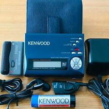 Kenwood DMC-F5R Portable Minidisc Recorder MD With Pioneer PMD-R1 Accessories