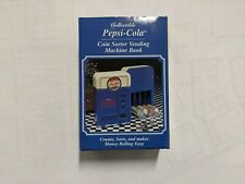 Pepsi Cola Coin Sorter Vending Machine Bank Collectible New In Box