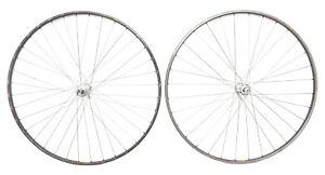 Mavic GP4 Alloy Tubular 6s Road Bike Wheelset 700c Campagnolo Record Hubs 32/36H