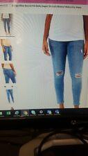 Motherhood MATERNITY Womens Jeans sz S, Indigo Blue Denim Stretch Skinny Legs