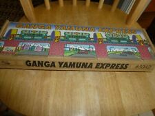 VTG WIND UP TIN LITHO RETURN TRAIN GANGA YAMUNA EXPRESS #S042 W/KEY WELBY