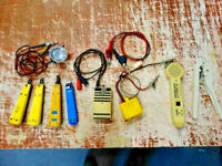 Lot of Vintage Telephone Lineman Repairman Tools