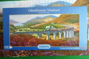 Gibson Glenfinnan Viaduct Puzzle - 636 Pieces