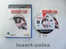 Residente Evil Dead Aim-PlayStation 2/ps2/embalaje original/pal/40/16