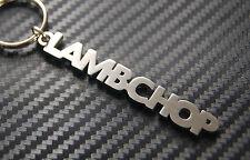 LAMBCHOP Lamb Nickname Keyring Keychain Key Fob Bespoke Stainless Steel Gift