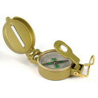 2021 Military Hiking Boat Camping Tool Hook Lensatic Lens Directional Compass