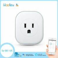 US Smart Plug Power Socket Switch 16A Mini Wireless Wifi Control Power Detect
