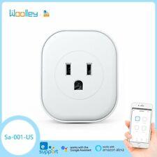 US Smart Plug Power Socket Switch 16A Mini Wireless Wifi Control Power Detect
