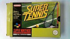 Super Tennis - Nintendo SNES - Boxed