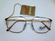 PERSOL RATTI occhiali da vista vintage ENDY oro doppio ponte uomo man glasses
