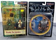 Middle-Earth Toys Frodo a Hobbit & Gimli a Dwarf JRR Tolkiens Lord of the Rings