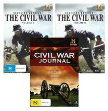 AMERICAN CIVIL WAR THE DECISIVE BATTLES JOURNAL HISTORY COLLECTION NEW 6 DVD R4
