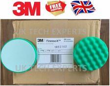 50 x Pads- 3M Finesse-it Waffle 3M Polishing Pad L2 Green round edge 63999 135mm