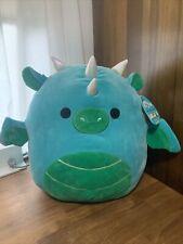 New Kellytoy Squishmallows Dalton The Dragon 16 inch Plush Toy - 640202