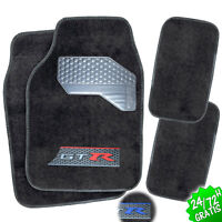 SET 4x ALFOMBRAS COCHE ALFOMBRILLAS MOQUETAS UNIVERSAL CARPET CAR MAT SET