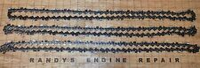"3 Oregon 20"" chisel chainsaw chains 3/8 .050 72 DL 72LGX072G USA Seller"