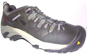NIB KEEN Utility Men's Detroit Low Steel Toe Leather Work Shoes Sneakers Peacoat