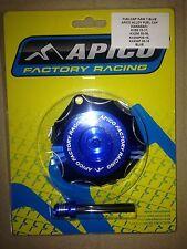 KAWASAKI  KXF 250  KXF 450   2006-2017   APICO FUEL PETROL CAP & VENT PIPE BLUE
