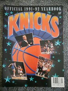 1991-92 Knicks Official Yearbook
