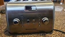 Kitchenaid Kmt423Cs1 Architect 4 Slice Automatic Stainless Steel Toaster