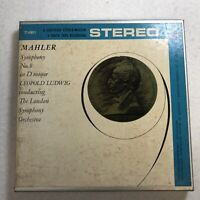 Mahler Symphony No 9 D minor Leopold Ludwig Reel To Reel 7-1/2 IPS Untested