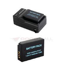 2x LP-E17 1040mAh Battery +Charger For Canon EOS 750D 760D M3