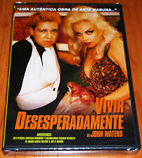VIVIR DESESPERADAMENTE / DESPERATE LIVING John Waters DVD R2 Precintada