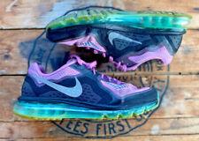 Nike Air Max Women's Size 10 Purple Black Running Shoes 621078-504 2014