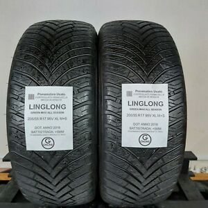 Pneumatici Usati 205/55 R17 95V XL M+S Linglong - 60% +5mm - Gomme 4 Stagioni