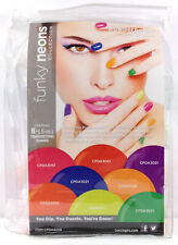 Cuccio Nail Dipping Powder - FUNKY NEONS Collection - All 8 Colors x 0.5oz